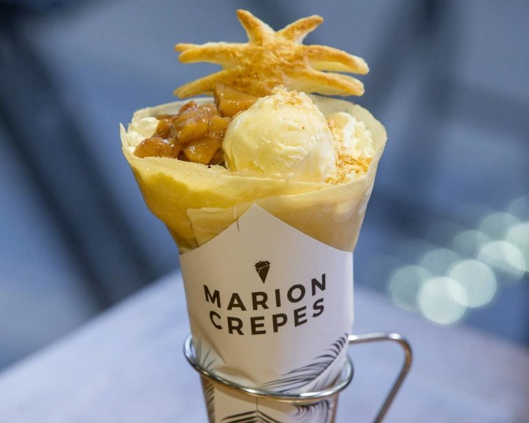 Marion Crepes - Vanilla Ice Cream Cinnamon