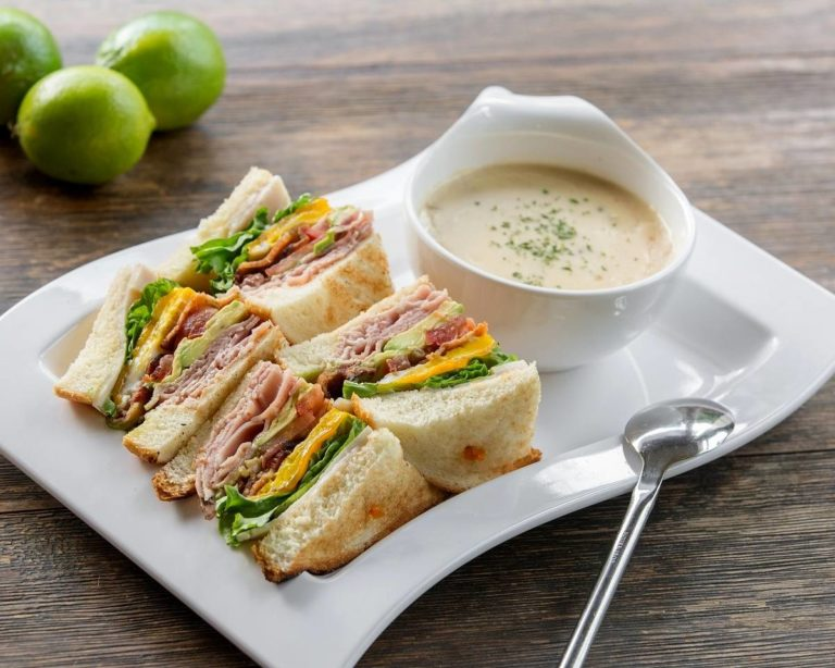 Panya Bistro - Supreme Club Sandwiches