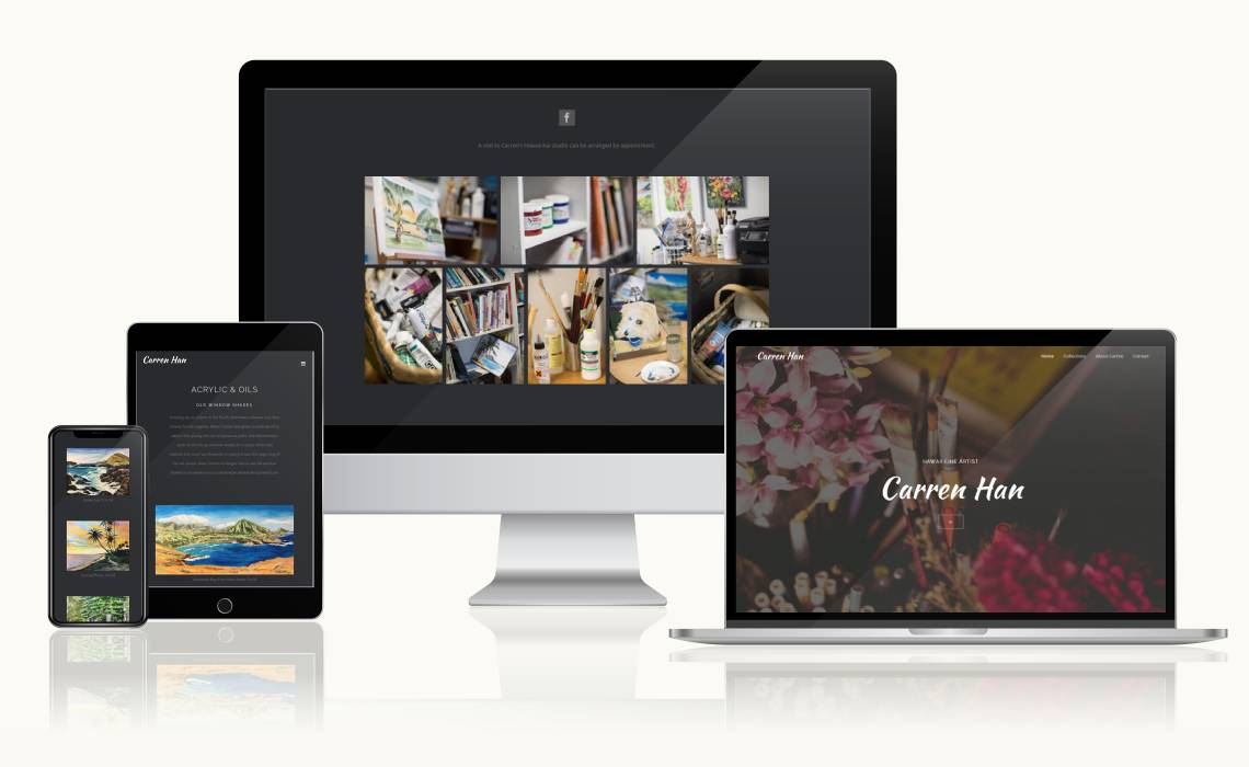 Website of Carren Han
