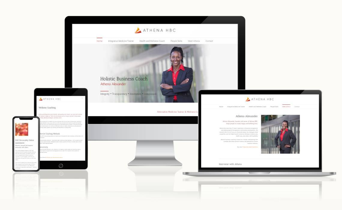 Website Athena HBC
